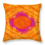 The Opposite Of The Blues Throw Pillow