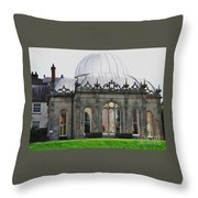 The Orangery Killruddery House, Bray, Ireland Throw Pillow
