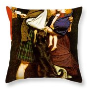 The Order Of Release Throw Pillow