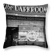 The Original Darkroom Throw Pillow