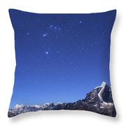 The Orion Constellation Throw Pillow