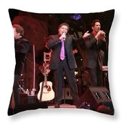 The Osmond Brothers Throw Pillow