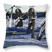 The Other Beach Boys Throw Pillow