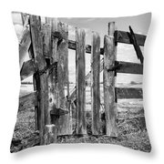 The Other Field  Throw Pillow