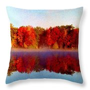 The Other Side... Throw Pillow