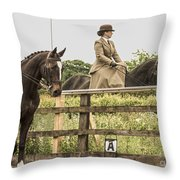 The Other Side Of The Saddle Throw Pillow