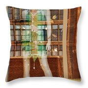 The Other Side Of The Story #2 Throw Pillow