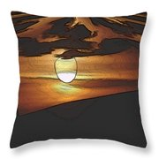 The Other World Throw Pillow