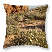 The Outcropping Throw Pillow
