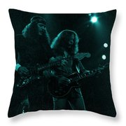 The Outlaws - Hughie Thomasson And Billy Jones-1st Release Special Price Throw Pillow