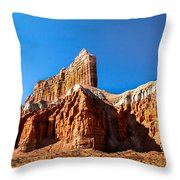 The Outpost Rock Throw Pillow