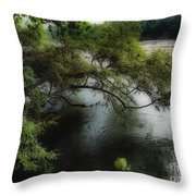The Overhang Throw Pillow