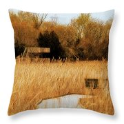 The Overlook Throw Pillow by Lois Bryan