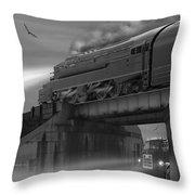 The Overpass Throw Pillow