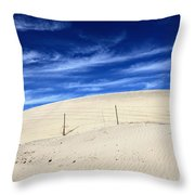 The Overtaking Throw Pillow