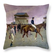 The Owner S Enclosure Newmarket Throw Pillow