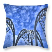 The Pacific Science Center Throw Pillow