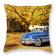 The Packard Throw Pillow
