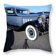 The Packard Throw Pillow