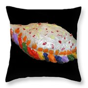 The Painted Calzone Throw Pillow