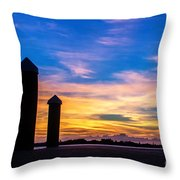 The Painted Sky Throw Pillow