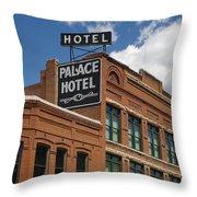 The Palace Throw Pillow
