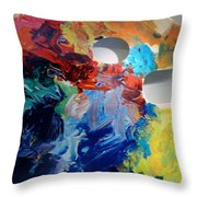 The Palet Throw Pillow