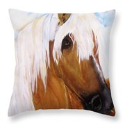 The Palomino Throw Pillow