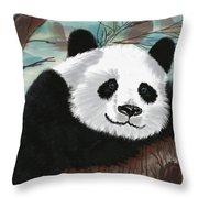 The Panda Throw Pillow