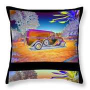The Panel - Collage Throw Pillow