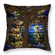 The Panes Of Love Throw Pillow