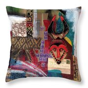 The Paradox Of Independence Throw Pillow