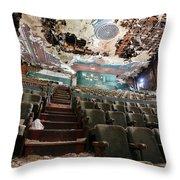 The Paramount Theater Throw Pillow