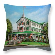 The Parker House Throw Pillow