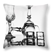 The Party's Over Throw Pillow