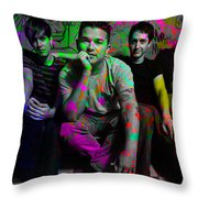 The Passenger Painting Throw Pillow