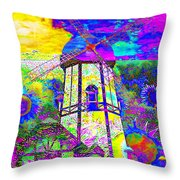 The Pastoral Dreamscape 20130730 Throw Pillow