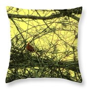 The Patch Up Throw Pillow