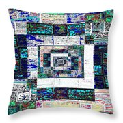The Patchwork Throw Pillow