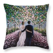 The Path Of Love  Throw Pillow