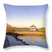 The Path That Leads To Home Throw Pillow