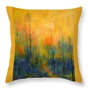 The Path To Forever Throw Pillow