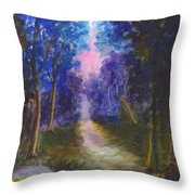 The Path Up Yonder Throw Pillow