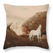 The Patriarch Throw Pillow