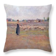 The Peace Of Evening Throw Pillow