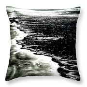 The Peaceful Ocean Throw Pillow
