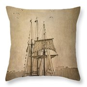 The Peacemaker Throw Pillow