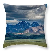 The Peaks Throw Pillow