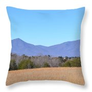 The Peaks Of Otter Throw Pillow