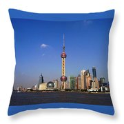 The Pearl  Throw Pillow